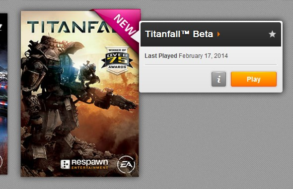 Titanfall Beta on Origin