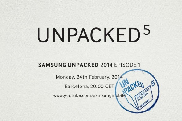 Samsung Unpacked 5 2014