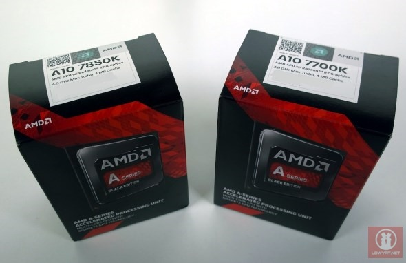 AMD Kaveri A-Series APU: A10-7850K and A10-7700K