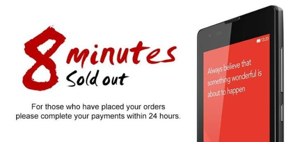Xiaomi Redmi Sold Out In Singapore Within 8 Minutes