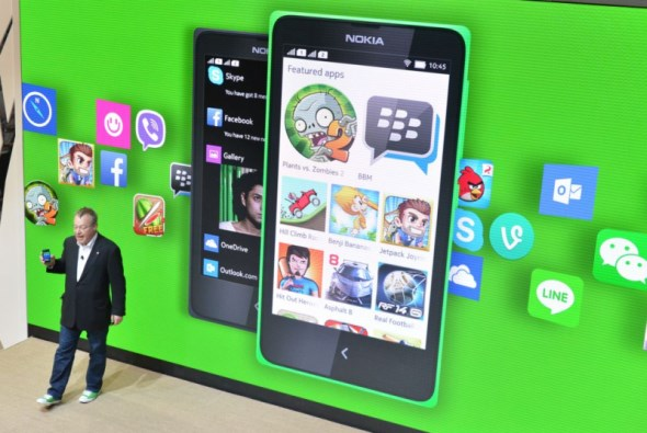 Android Apps on Nokia X
