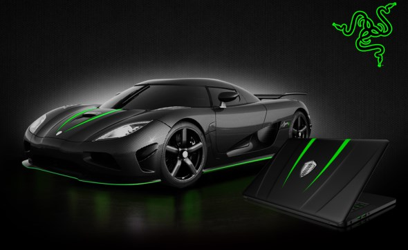 Koenigsegg Razer Blade Gaming Laptop