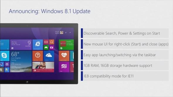 Windows 8.1 Update Spring 2014