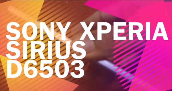 Sony Xperia Sirius D6503 Leak Video