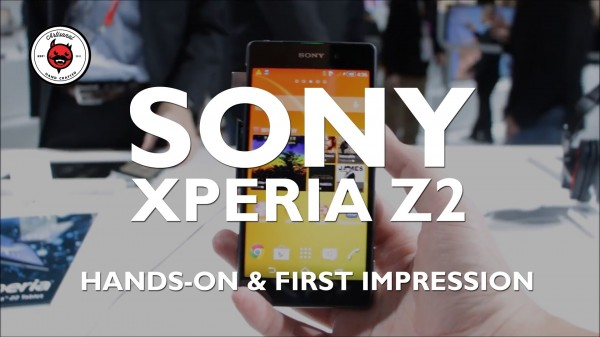 Hands On & First Impressions: Sony Xperia Z2 at MWC 2014