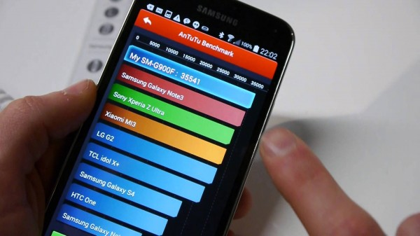 MWC 2014: Early Benchmark Results For Samsung Galaxy S5 – Quadrant, AnTuTu, GFXBench, Basemark X