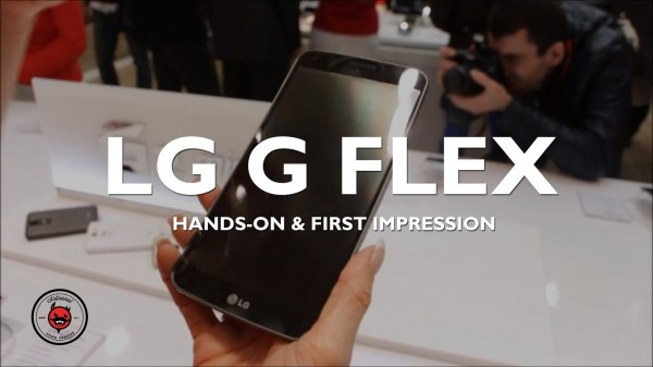 MWC 2014: LG G Flex Hands On & First Impressions