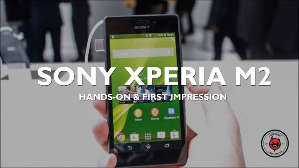 MWC 2014: Sony Xperia M2 Hands On & First Impressions