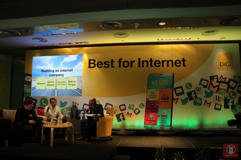 DiGi Best For Internet Launch