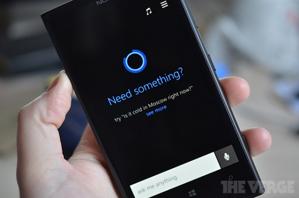 Cortana, Windows Phone 8.1