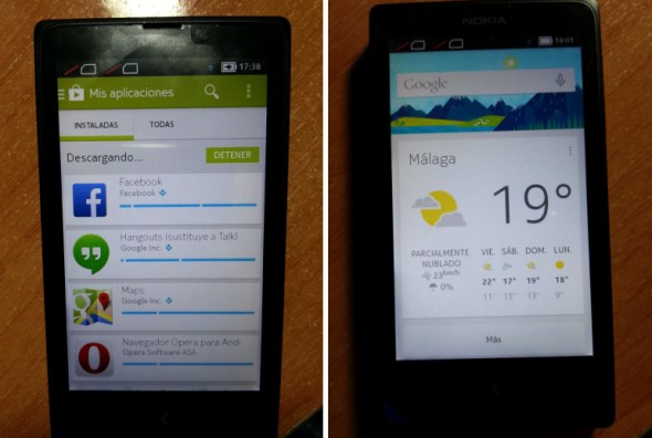 Nokia X Rooted, Running Google Play and Google Now