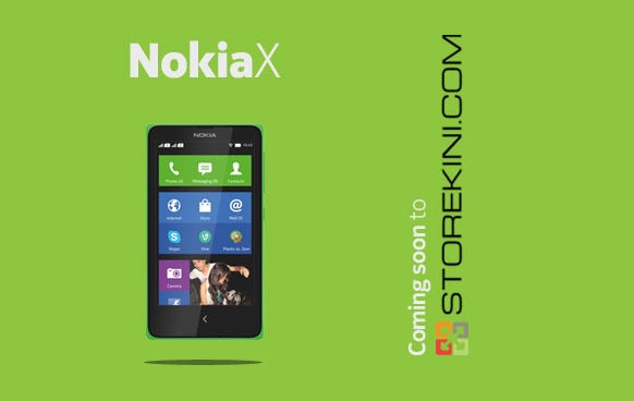 Nokia X at Storekini