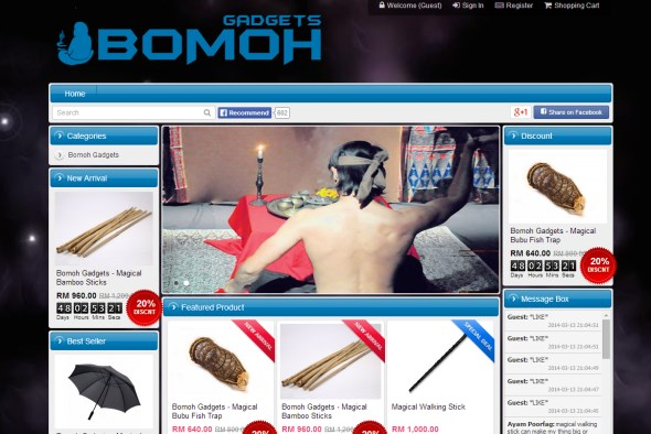 Bomoh Gadgets Malaysia Online Store