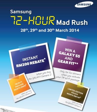 Samsung Galaxy Camera 2 Promo: Malaysia