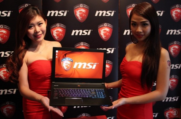 2014 MSI Notebooks G Series Malaysian Launch