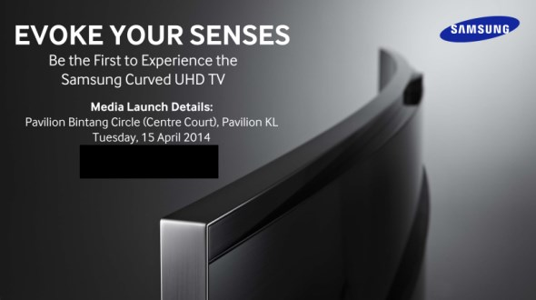 Samsung Malaysia Curved UHD TV Launch, April 2014