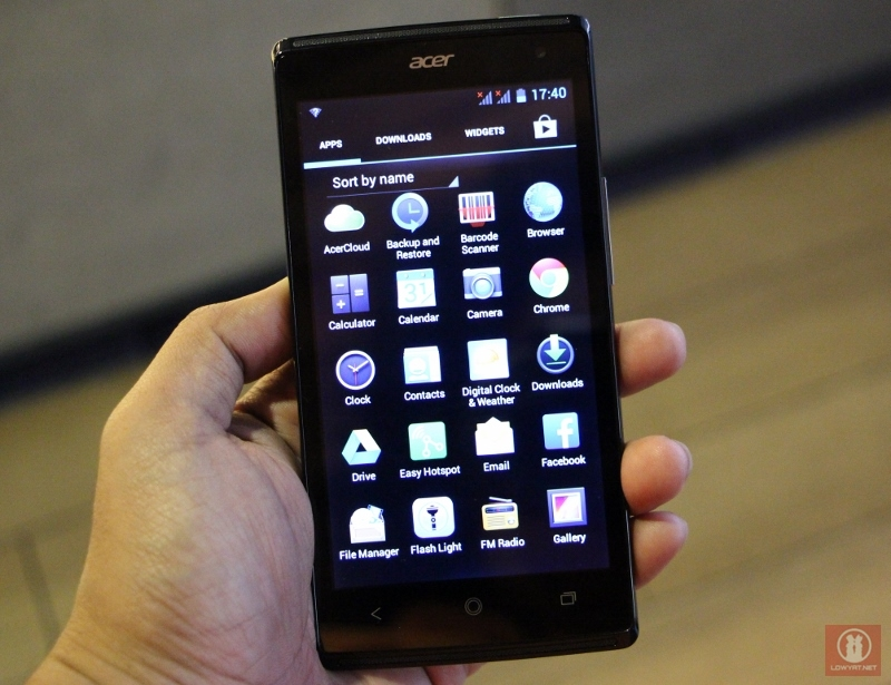First Look Acer Liquid Z5 Android Smartphone