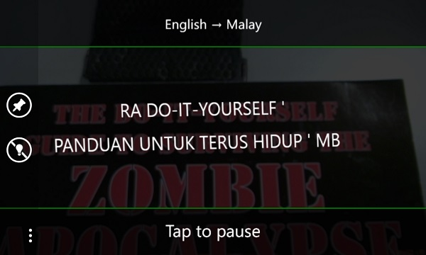 Bing Translator Zombies