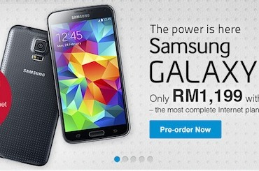 DiGi Galaxy S5 Preorder
