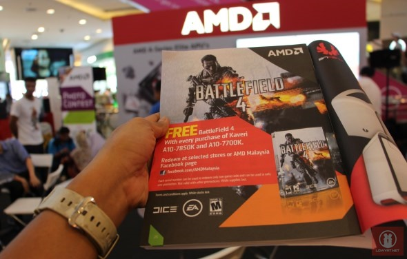 Free Battlefield 4 For AMD Kaveri and A10 Notebooks 01