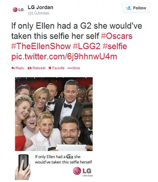 LG Ellen Show