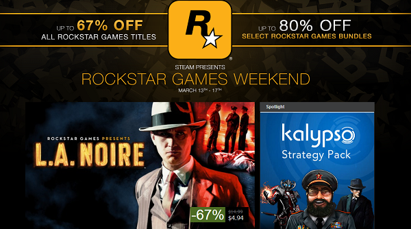 Rockstar Games Weekend