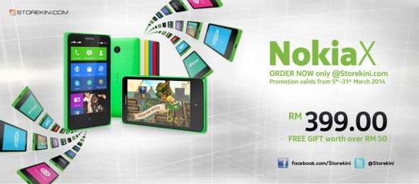 Nokia X at Storekini