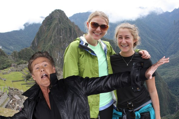 Google+ Auto Awesome Photobomb with The Hoff