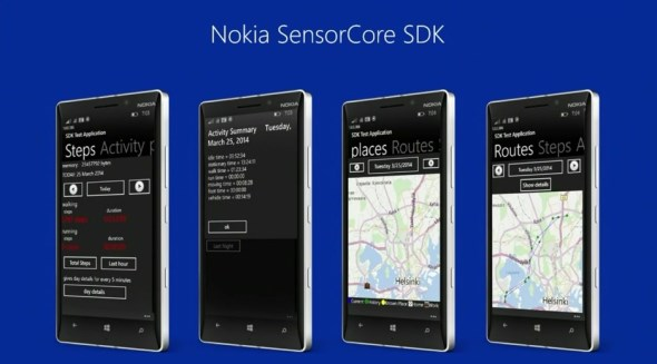 Nokia SensoreCore, Lumia Cyan