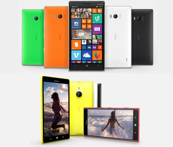 Nokia Lumia 930 and Lumia 1520