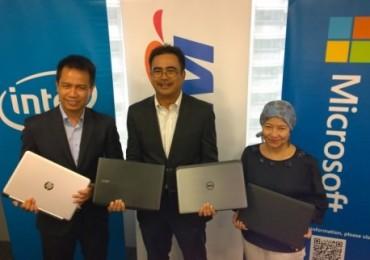 Good Bye XP, Good Buy Windows 8 Launch: Microsoft Malaysia - TM - Intel Malaysia