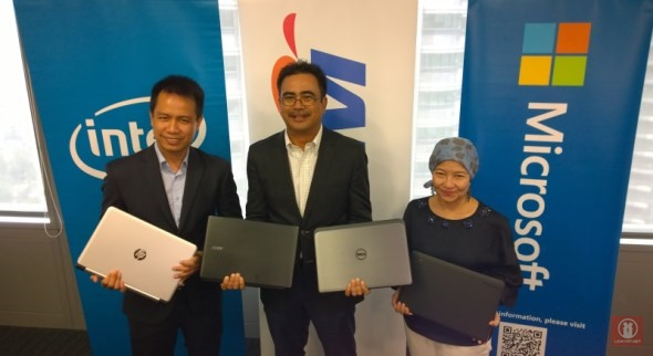 Good Bye XP, Good Buy Windows 8 Launch: Microsoft Malaysia - TM - Intel Malaysia