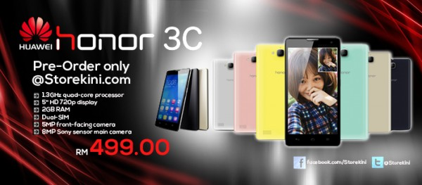 Huawei Honor 3C at Storekini