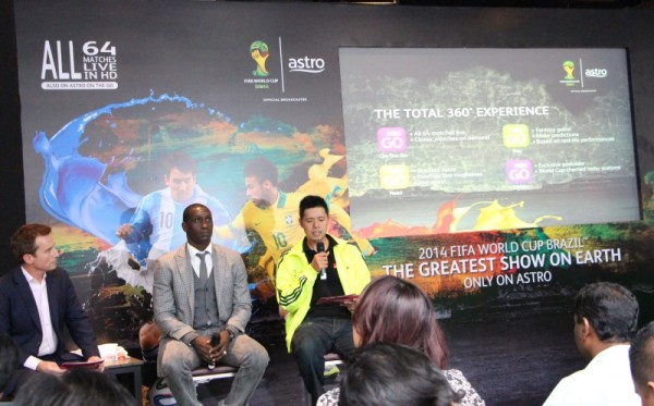Astro 2014 FIFA World Cup Launch