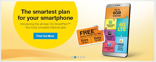 DiGi Extra Mintues and SMS