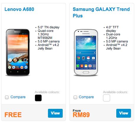 DiGi Lenovo and Samsung Bundle