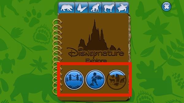 Disneynature Explore journal pins