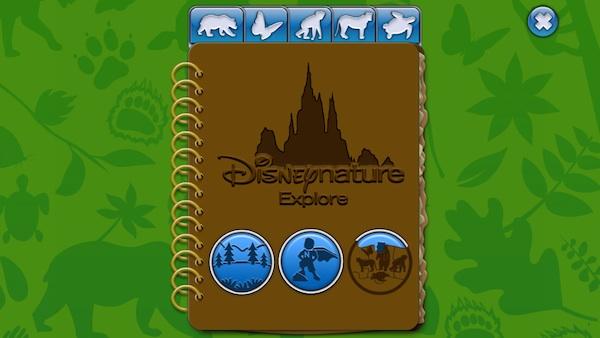Disneynature Explore journal
