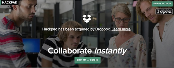 Dropbox Hackpad Acquisition