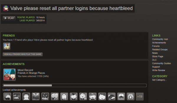 Heartbleed Steam