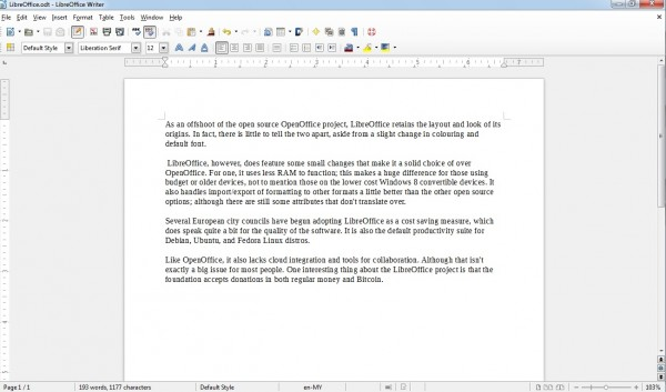 LibreOffice SC