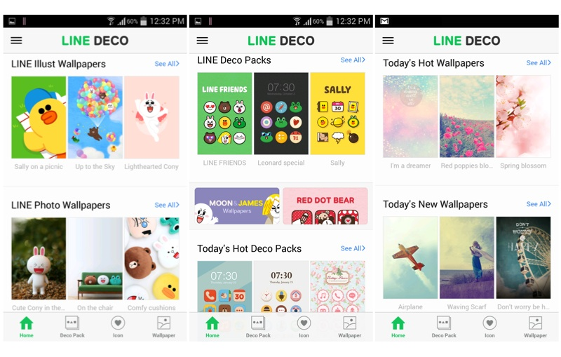 App Of The Week Line Deco Wants To Spice Up Your Boring