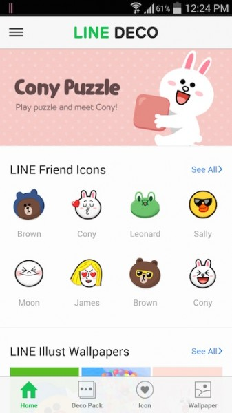 Line Friends Icons