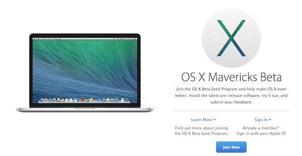 OS X Beta Testing Program