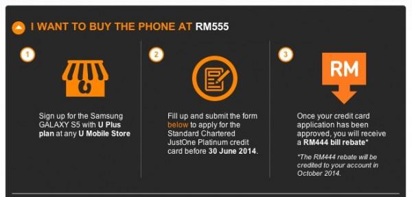 U Mobile S5 RM555