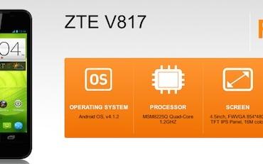 U Mobile ZTE V817