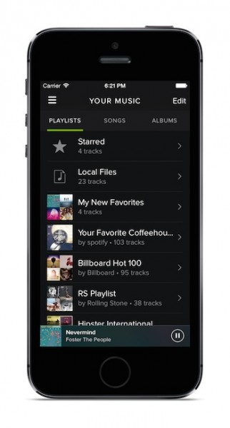 iphone-your-music-playlists