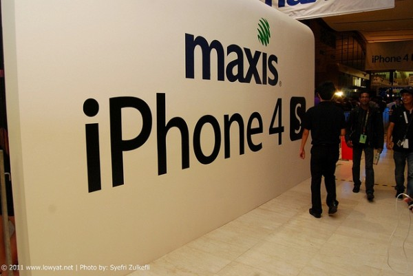 Maxis iPhone 4S Launch 2011