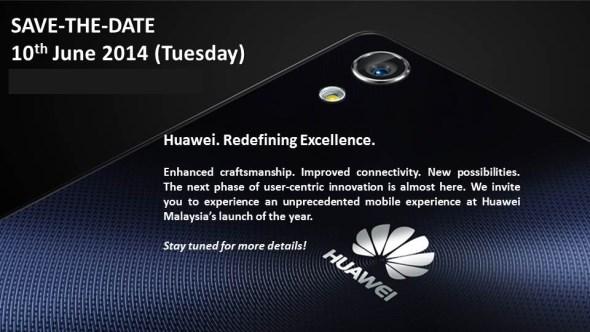 Huawei Ascend P7 Launch, Malaysia