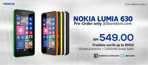 Storekini: Nokia Lumia 630